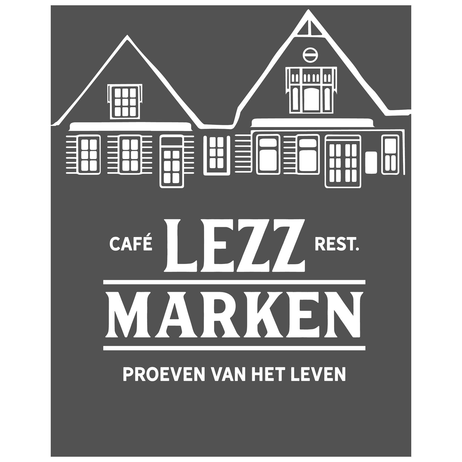 Logo restaurant LEZZ door Sjoerd van Schagen